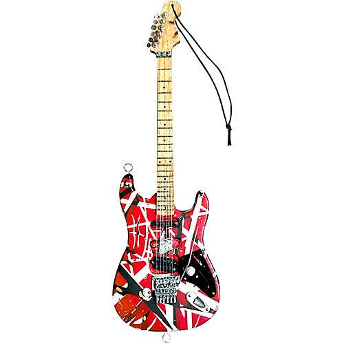Hal Leonard EVH Eddie Van Halen Frankenstein 6 Inch Mini Guitar Ornament - Artist Approved