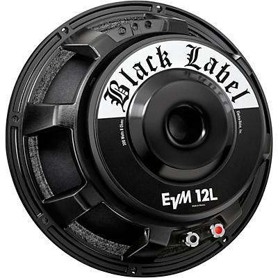 Electro-Voice EVM12L Black Label 8 Ohm Speaker