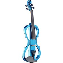 EVN X-4/4 Series Electric Violin Outfit Metallic Blue