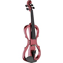 EVN X-4/4 Series Electric Violin Outfit Metallic Red