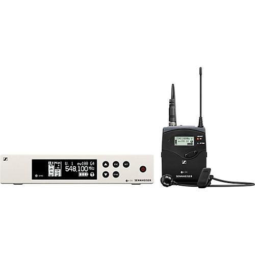 Sennheiser EW 100 G4-ME2-A Wireless Lavalier Microphone System
