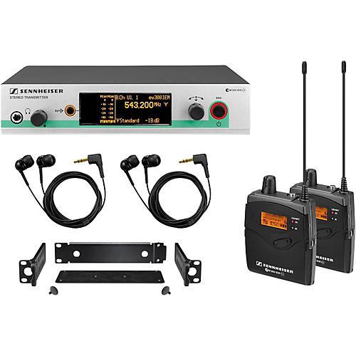 Sennheiser EW 300-2 IEM G3-B In-Ear Wireless System 504280