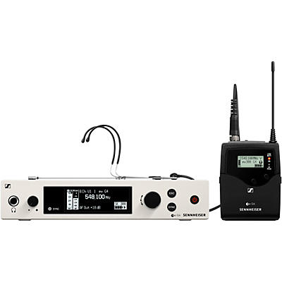 Sennheiser EW 300 G4-HEADMIC1-RC Bodypack Headset Wireless System