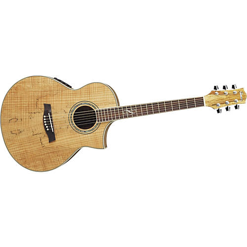 Ibanez EW20SMENT EXOTIC WOOD SERIES Spalted Maple Acoustic-Electric Guitar
