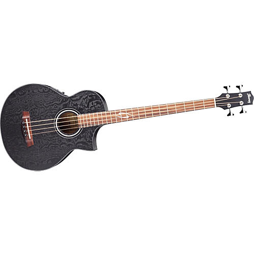 Ibanez EWB10ASEO Exotic Woods Acoustic-Electric Bass Guitar