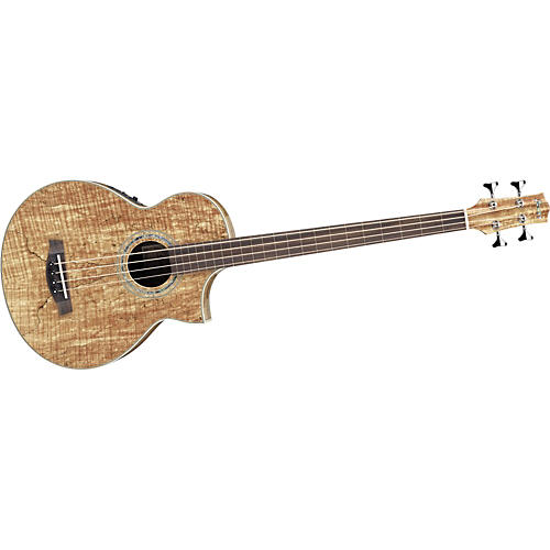 ibanez ewb20smfe exotic woods acoustic electric fretless bass guitar musician 39 s friend. Black Bedroom Furniture Sets. Home Design Ideas