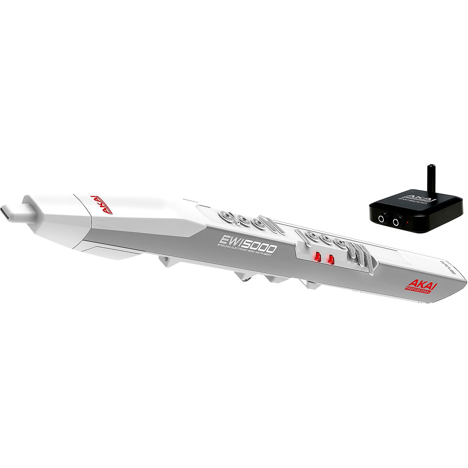 Akai Professional EWI5000 White Wireless Electronic Wind Controller