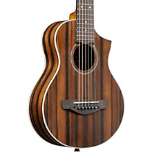 Ibanez EWP13DBO Exotic Wood Piccolo Acoustic Guitar