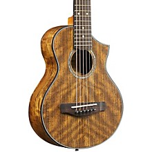 Open Box Ibanez EWP14OPN Exotic Wood Piccolo Acoustic Guitar