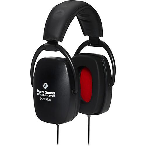 Direct Sound EX29 Plus Extreme Isolation Headphone in Midnight Black