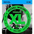 D'Addario EXL130 Nickel Extra Super Light Electric Guitar Strings thumbnail