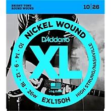 D'Addario EXL150H High-Strung Guitar Strings