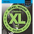 D'Addario EXL165-6 XL 6-String Bass Soft/Regular String Set thumbnail