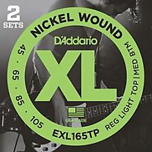D'Addario EXL165TP Twin-Pack Bass Guitar Strings