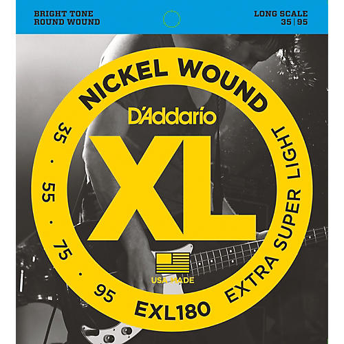D'Addario EXL180 XL Extra Super Soft/Long Bass Strings
