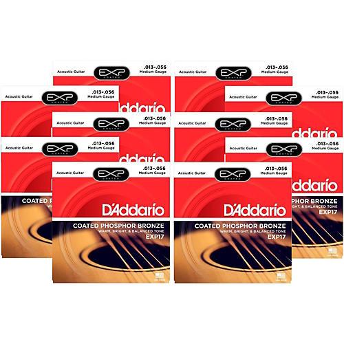 D'Addario EXP17 Acoustic Strings 10 Pack