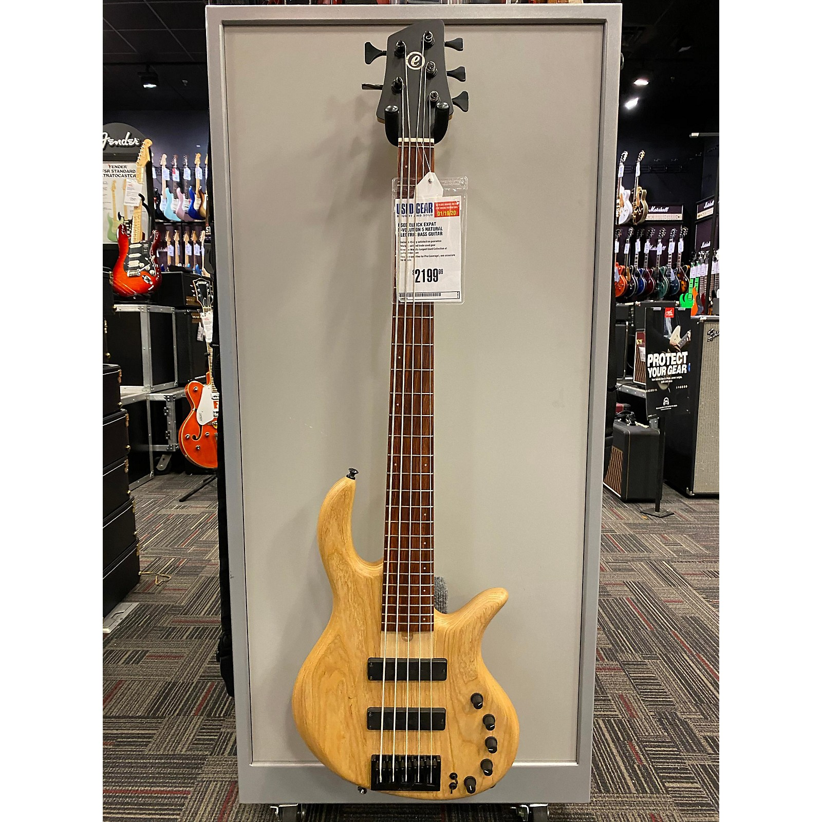 Elrick EXPAT E-VOLUTION 5 Electric Bass Guitar