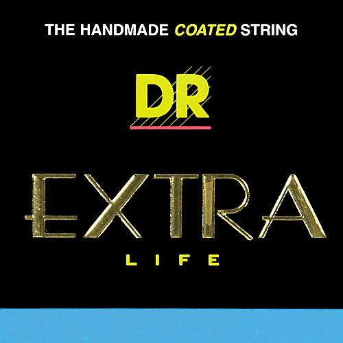 DR Strings EXR-11 Extra Life Clear Coated Acoustic Phosphor Bronze Guitar Strings