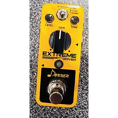 Donner EXTREME DRIVER Effect Pedal