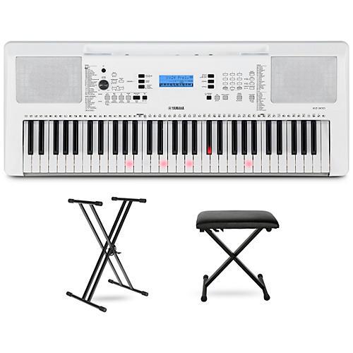 Yamaha EZ-300 Digital Keyboard Package Essentials