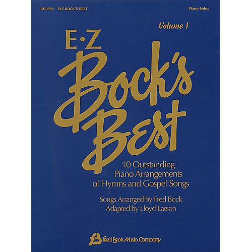 Fred Bock Music EZ Bock's Best - Volume 1 (Easy Piano)