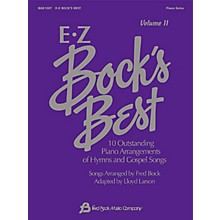 Fred Bock Music EZ Bock's Best - Volume II Fred Bock Publications Series