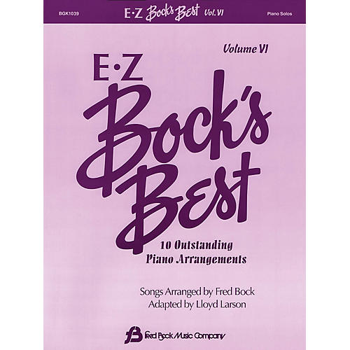 Fred Bock Music EZ Bock's Best - Volume VI