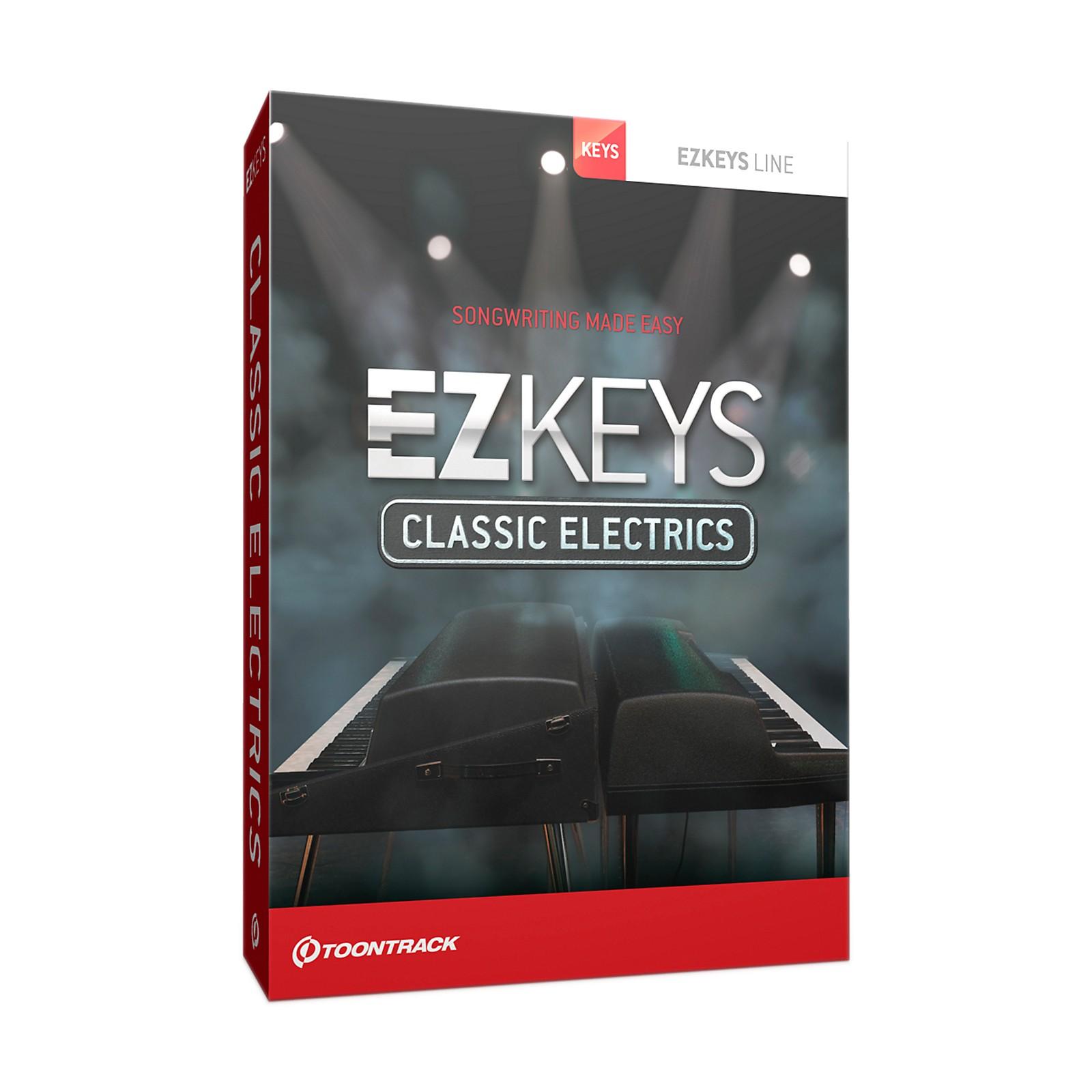 Toontrack EZ Keys Classic Electrics Software Download