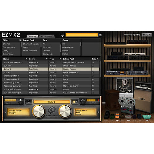 Toontrack EZ Mix 2 Ugrade from EZ Mix