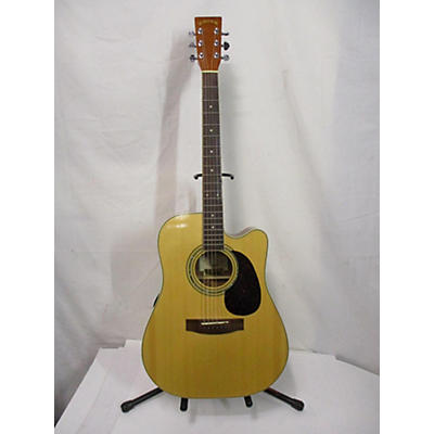 Zager EZ-PLAY ZAD-50CE Acoustic Electric Guitar