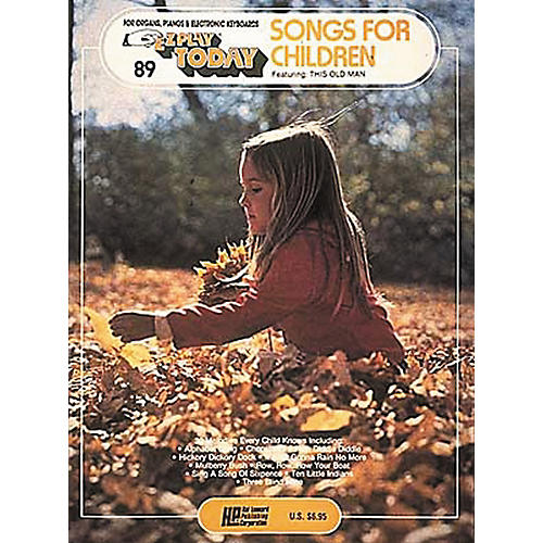 Hal Leonard EZ Play Today Songs for Children