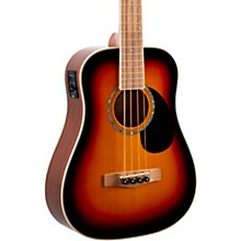 EZB Super Short-Scale Acoustic-Electric Bass 3-Color Sunburst
