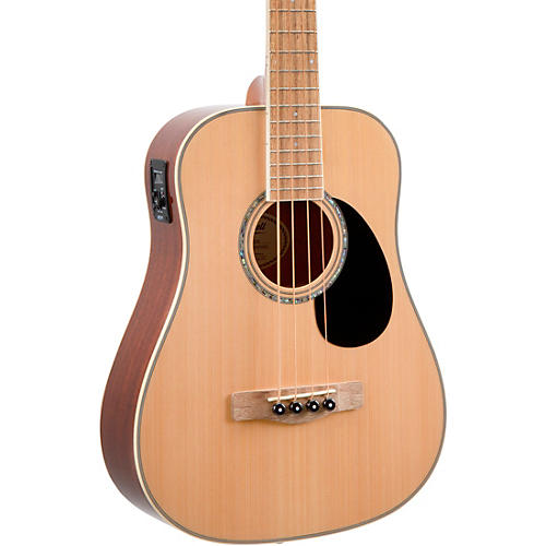 Mitchell EZB Super Short-Scale Acoustic-Electric Bass Natural