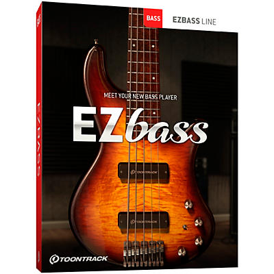 Toontrack EZbass (Software Download)