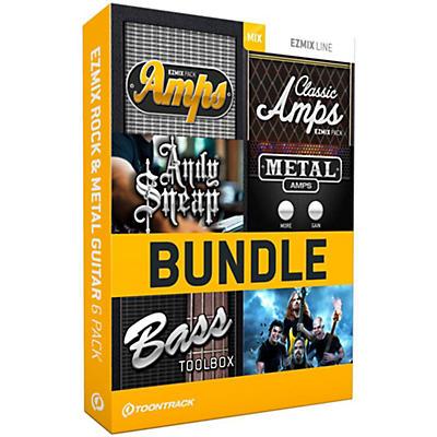 Toontrack EZmix 2 Rock & Metal Guitar 6 Pack Software Download