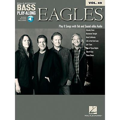 Hal Leonard Eagles - Bass Play-Along Vol. 49 Book/CD