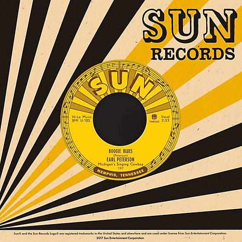 Alliance Earl Peterson - Boogie Blues / In The Dark