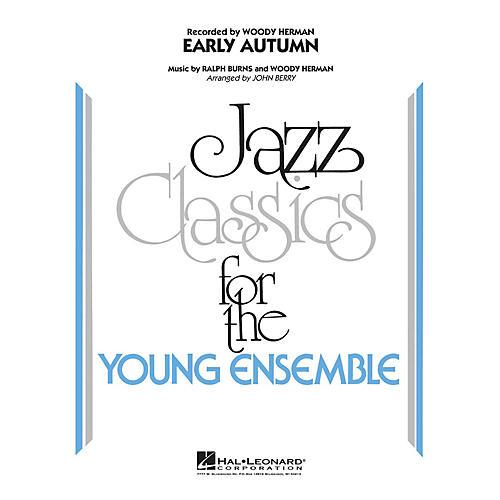 Hal Leonard Early Autumn Jazz Band Level 3 Arranged by John Berry