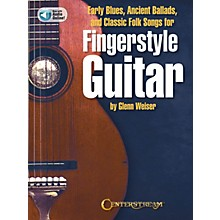 Centerstream Publishing Early Blues, Ancient Ballads and Classic Folk Songs for Fingerstyle Guitar Book/Audio Online
