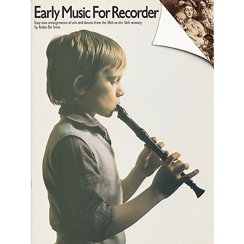 Music Sales Early Music for Recorder