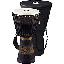 Open Box Meinl Earth Rhythm Series Original African-Style Rope-Tuned Wood Djembe with Bag