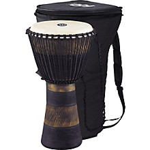 Open BoxMeinl Earth Rhythm Series Original African-Style Rope-Tuned Wood Djembe with Bag