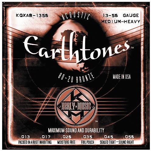 Kerly Music Earthtones 80/20 Bronze Acoustic Guitar Strings - Medium Heavy