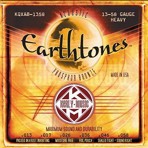 Kerly Music Earthtones Phosphor Bronze Acoustic Guitar Strings - Heavy