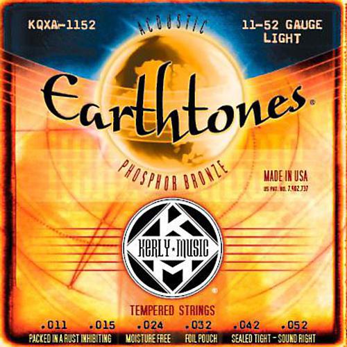 Kerly Music Earthtones Phosphor Bronze Acoustic Guitar Strings - Light