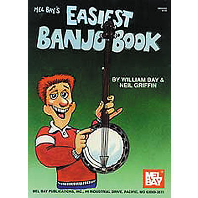 Mel Bay Easiest Banjo Book