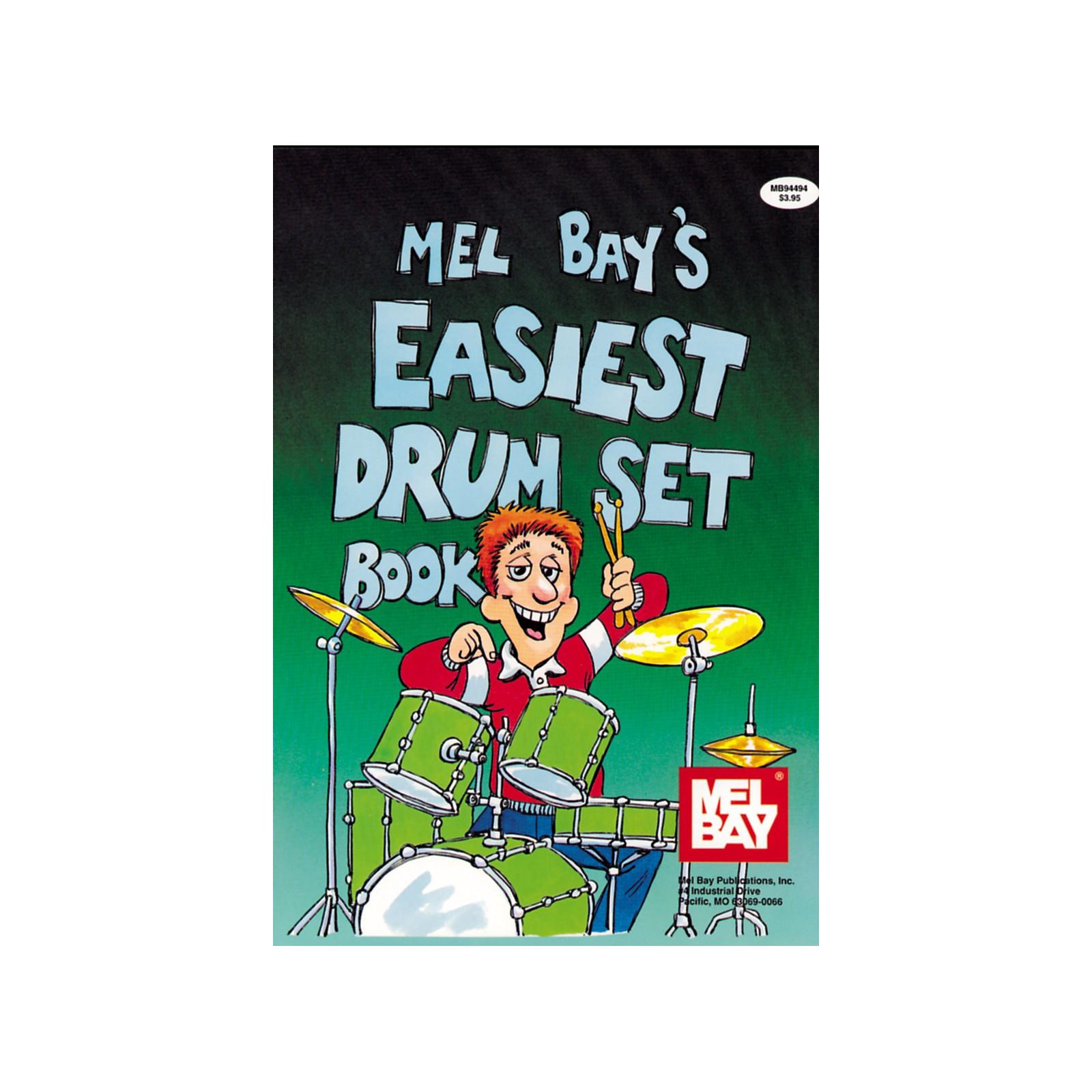 Mel Bay Easiest Drumset Book