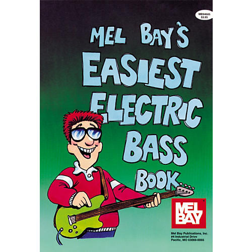 Mel Bay Easiest Electric Bass Book