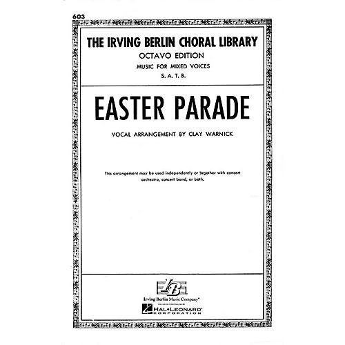 Hal Leonard Easter Parade SATB arranged by Clay Warnick