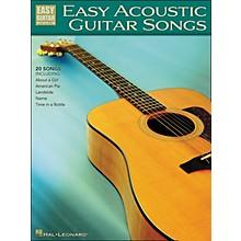 Hal Leonard Easy Acoustic Guitar Songs Easy Guitar Tab